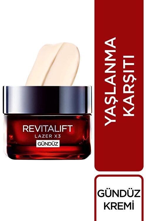 L'Oreal Paris L'Oréal Paris Revitalift Lazer X3 Yoğun Yaşlanma Karşıtı Gündüz Bakım Kremi + Gece Bakım Kremi 50 ml 2