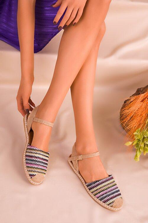 SOHO Siyah-Renkli Kadın Sandalet 14790 1