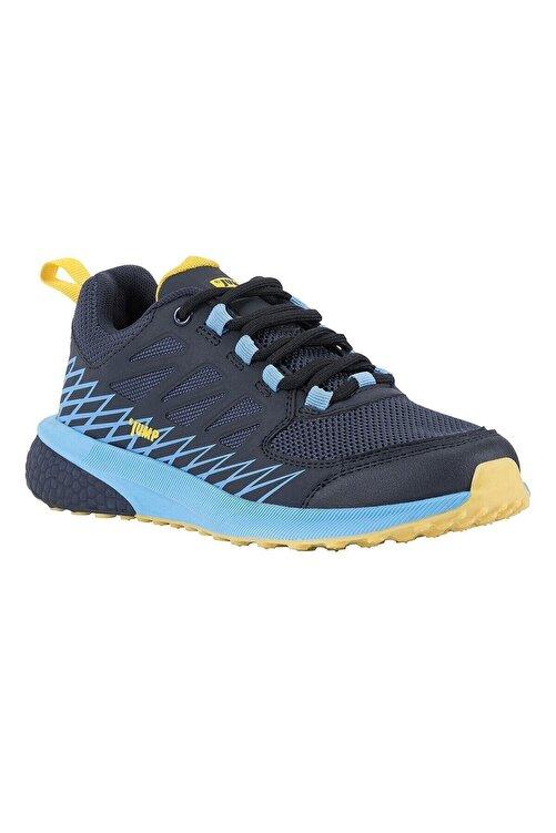 Jump Unisexs Lacivert Mavi Sarı  Waterproff Su Geçirmez Bayan Spor Ayakkabı Bot 2