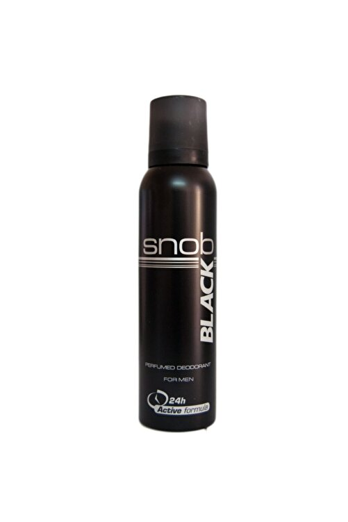 Snob Deo 150 Ml Black 1