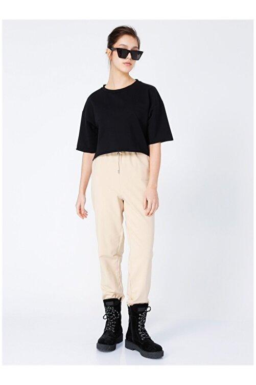 Fabrika Kadın Siyah T-Shirt 2