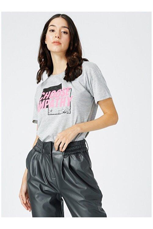 Fabrika Kadın Gri Tişört 1