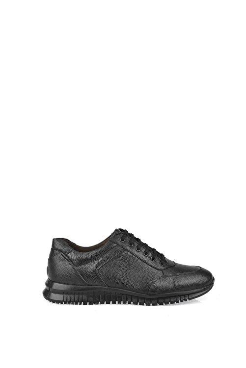 Ziya Erkek Siyah Hakiki Deri Ayakkabı 103423 101 1