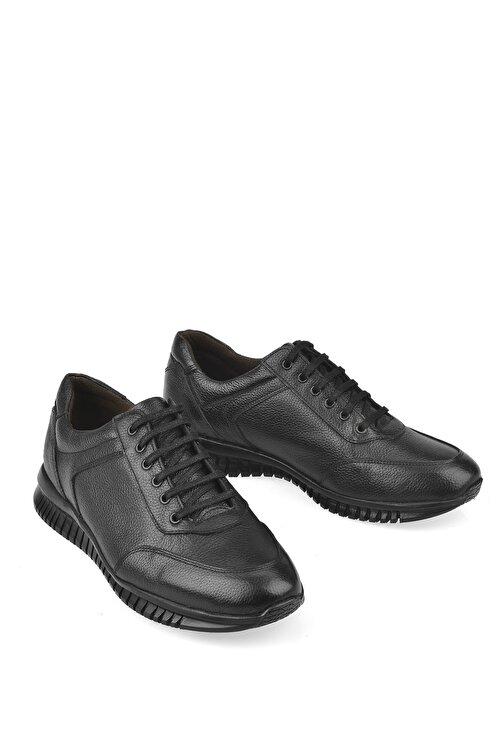 Ziya Erkek Siyah Hakiki Deri Ayakkabı 103423 101 2