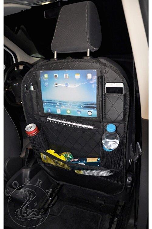 gönen deri Araba Koltuk Arkası Baklava Desen Organızer Ceplik Araç Eşya Düzenleyicisi + 5 Yıl Garanti 2