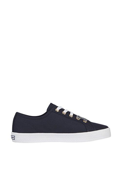 Tommy Hilfiger Kadın Mavi Sneaker Essentıal Nautıcal Sneaker FW0FW04848 1