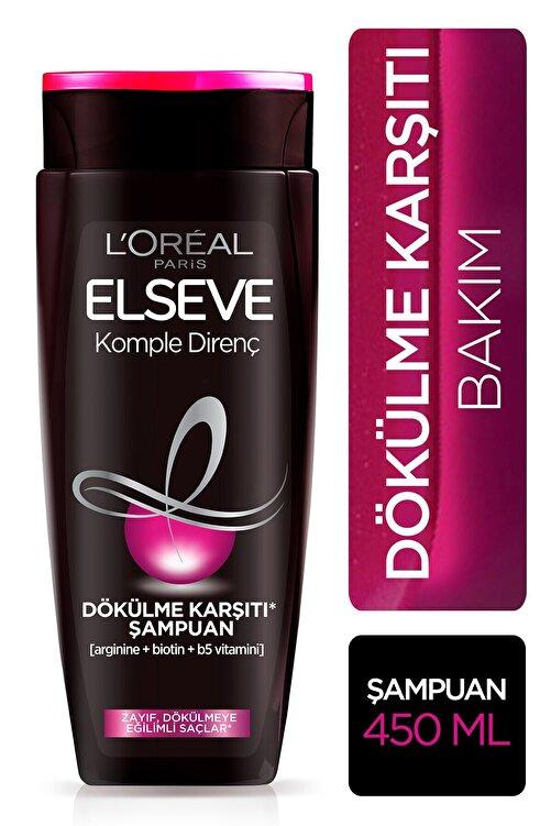 ELSEVE L'oréal Paris Komple Direnç Dökülme Karşıtı Şampuan 450 ml 1