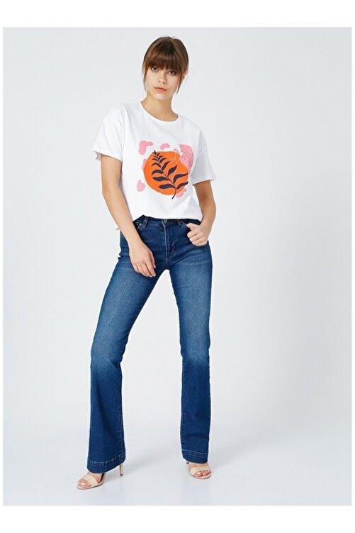 Fabrika Kadın Beyaz T-shirt 2