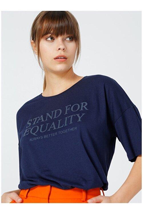 Fabrika Kadın Lacivert Tişört 2