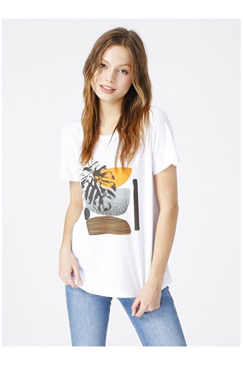 Fabrika Kadın Beyaz Tişört 1