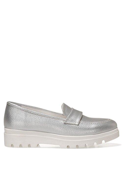 Nine West PIPER 1FX Gümüş Kadın Loafer Ayakkabı 101009742 1