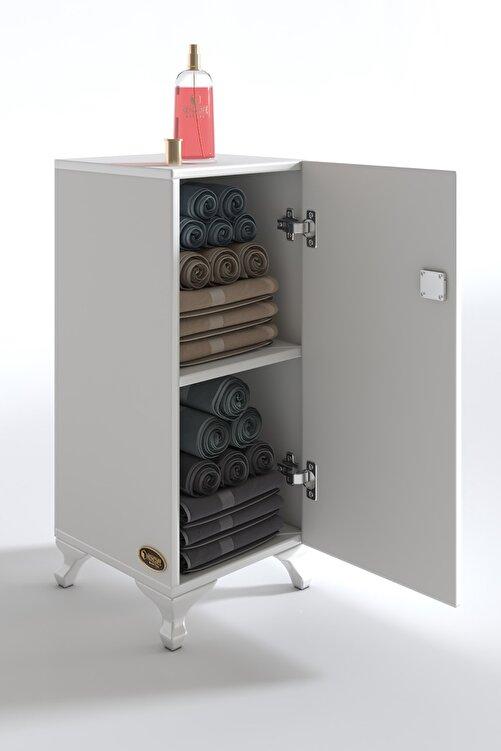 Kenzlife Kilitli dolap rana29 byz banyo dolabı ayaklı mutfak ofis kiler kitaplık evrak ÖZEL EBAT 68*29*29 cm. 2