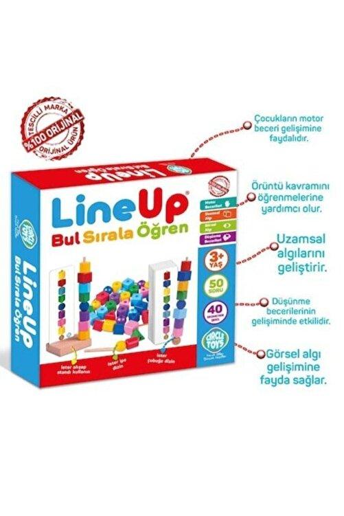 Circle Toys Line Up Ipe Ve Çubuğa Boncuk Ve Şekil Dizme Oyunu 2