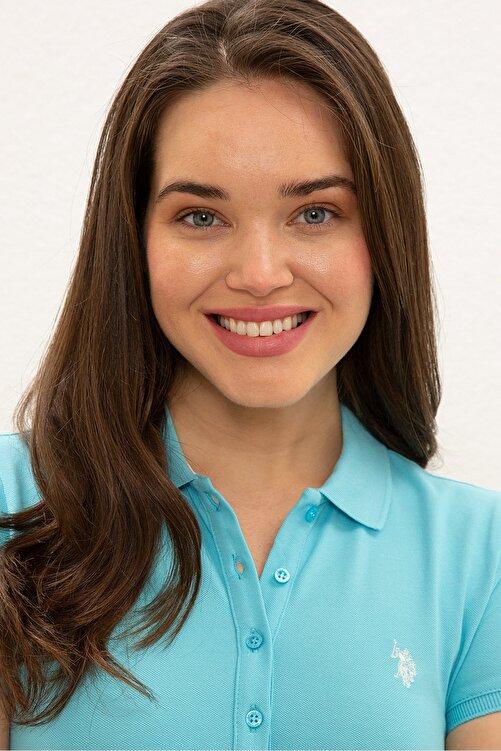 U.S. Polo Assn. Yesıl Kadın T-Shirt 2