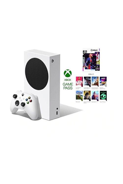 MICROSOFT Xbox Series S 512GB SSD Oyun Konsolu  3 Ay Gamepass Ultimate Hediye 1