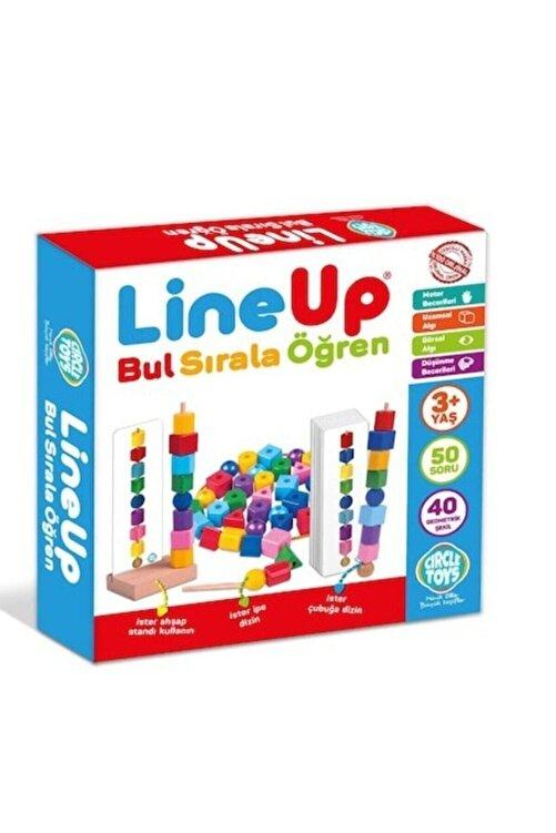 Circle Toys Line Up Ipe Ve Çubuğa Boncuk Ve Şekil Dizme Oyunu 1
