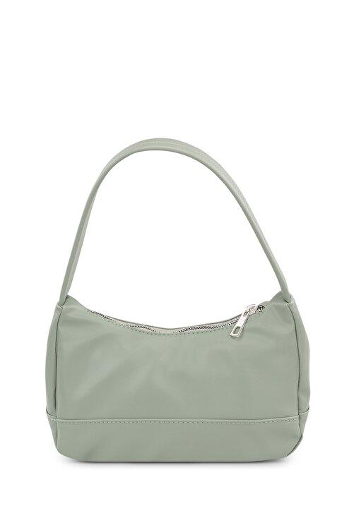 Housebags Kadın Su Yeşili Baguette Çanta 197 2