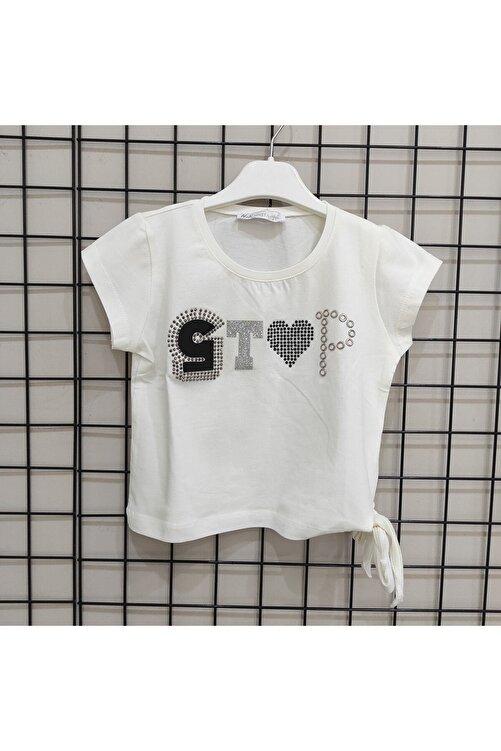 nk kids Kızbeli Bağlamalı Tshirt 1