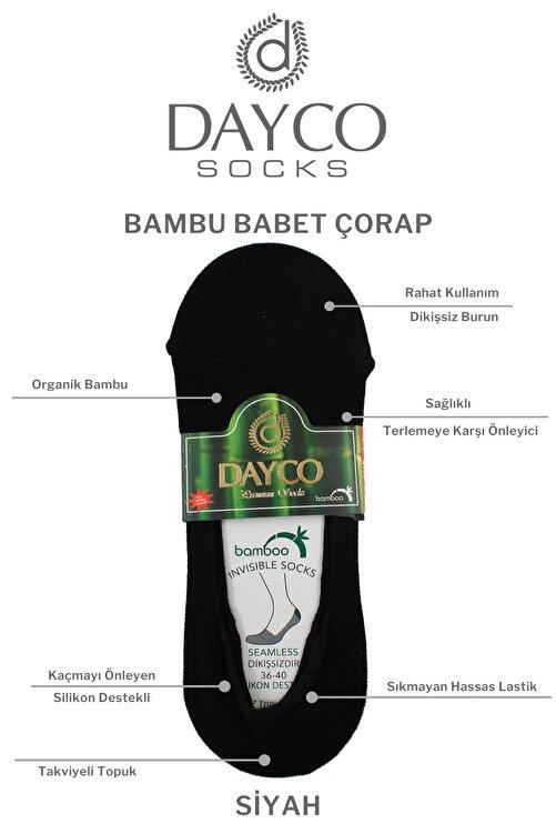DAYCO Kadın 4'lü Bambu Babet Çorabı 2