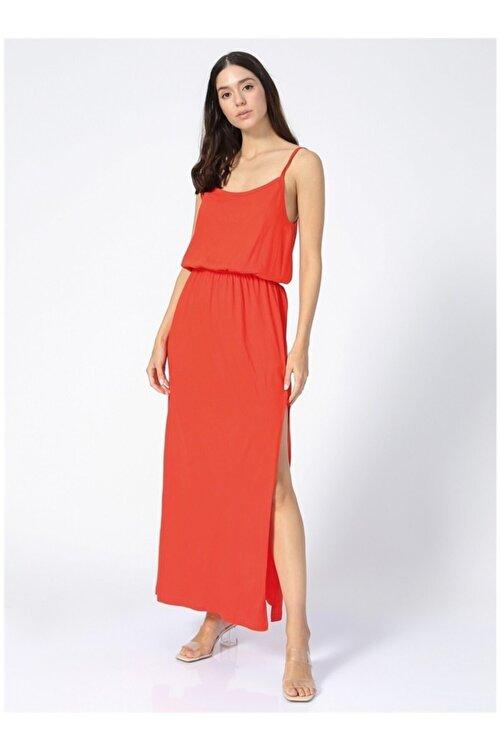 Fabrika Kadın Kırmızı Askılı Elbise 2