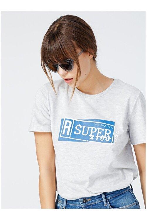 Fabrika Kadın Gri Tişört 2