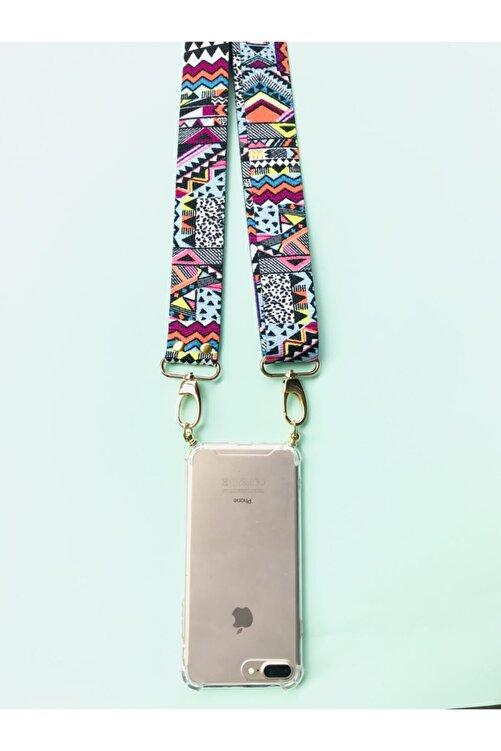 HEYO COVER Iphone Xs Boyundan Askılı Etnik Desenli Telefon Kılıfı 2