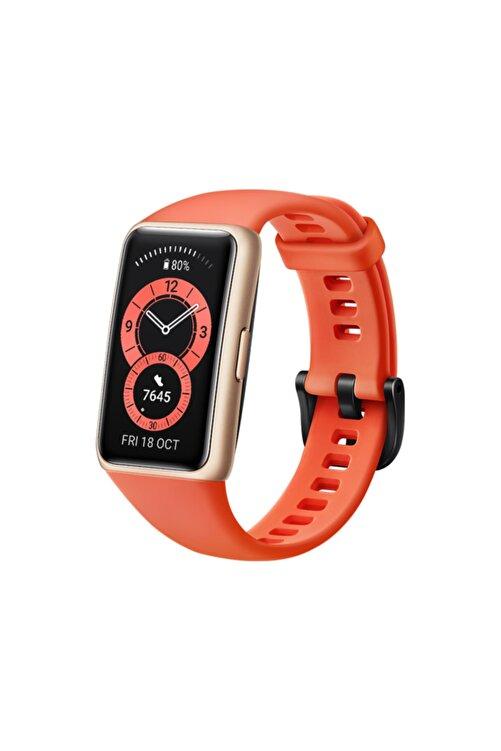 Huawei Band 6 Amber Turuncu Akıllı Bileklik 1
