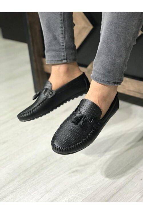 Zegeshoes Erkek Siyah Yazlık Günlük Ayakkabı 2