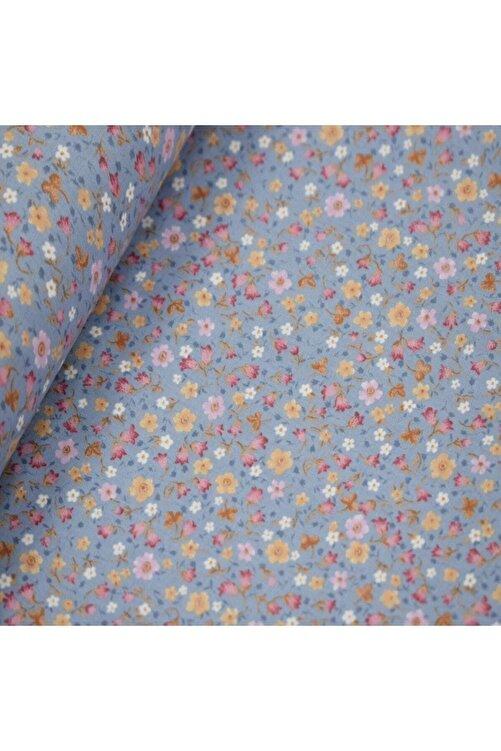 daisy star 170 Cm Eninde Çiçekli Poplin Kumaş 1