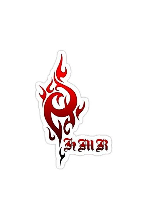 Universal K: Kralların Dönüşü - Homra Insignia (red Clan) Sticker Araba 15 cm 1
