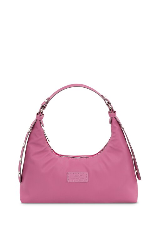 Housebags Kadın Pembe Baguette Çanta 205 1
