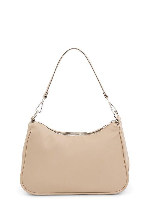 Housebags Kadın Krem Baguette Çanta 206 2