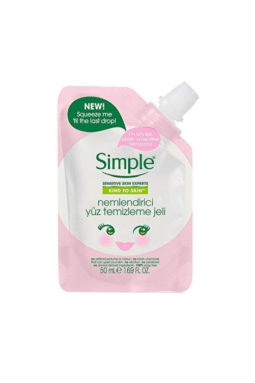Simple Kind To Skin Mini Nemlendirici Yüz Temizleme Jeli 50 ml 67749456 2