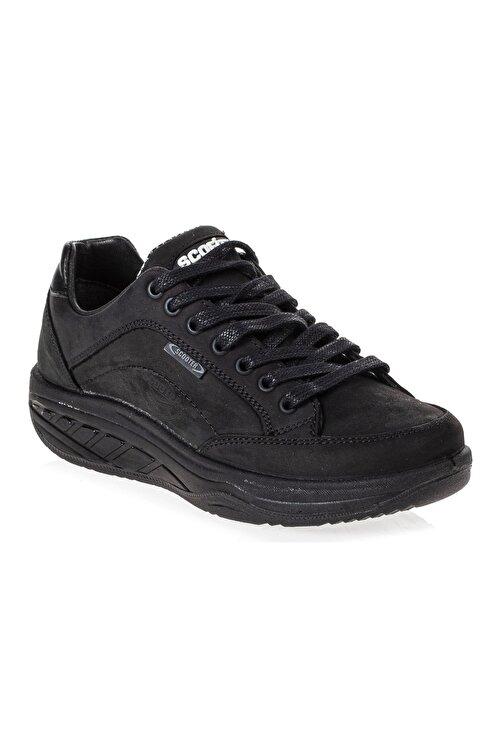 Scooter Deri Siyah Yürüyüş Ayakkabı G0781CS 2