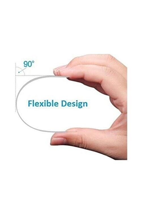 OPPO Reno 2z Ekran Koruyucu Nano Esnek Flexible Micro Temperli Kırılmaz Cam 2