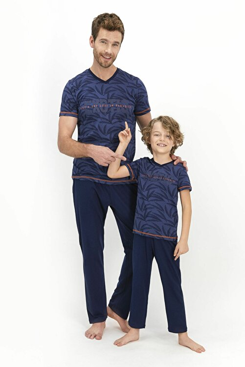 Arnetta Baba Oğul Kombin Pijama Takım 1
