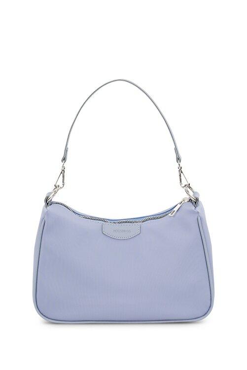 Housebags Kadın Bebe Mavi Baguette Çanta 206 1