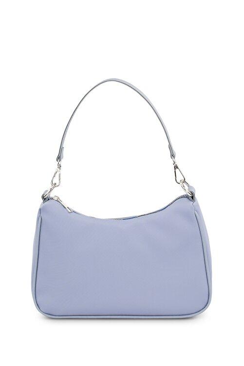 Housebags Kadın Bebe Mavi Baguette Çanta 206 2