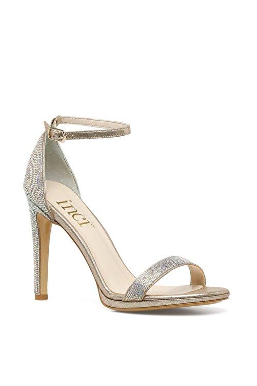 İnci PARLE.Z 1FX Altın Kadın Topuklu Sandalet 101038356 2