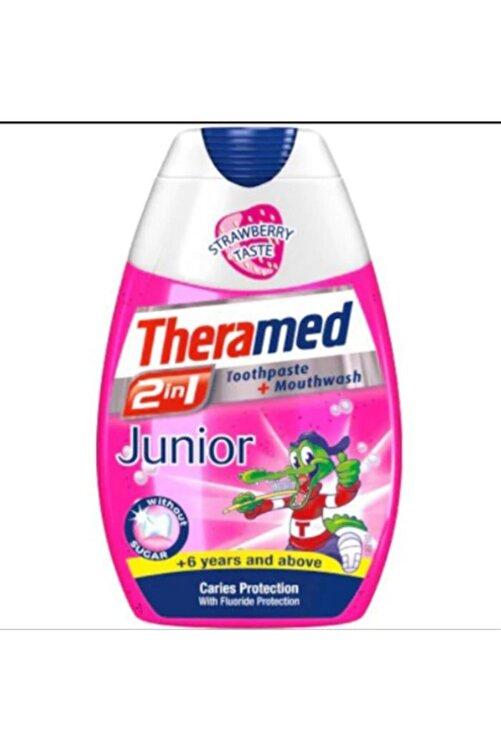 Theramed Junior 2in1 Diş Macunu +6 Yetişkin 75 Ml Taze Çilek Tadında 1