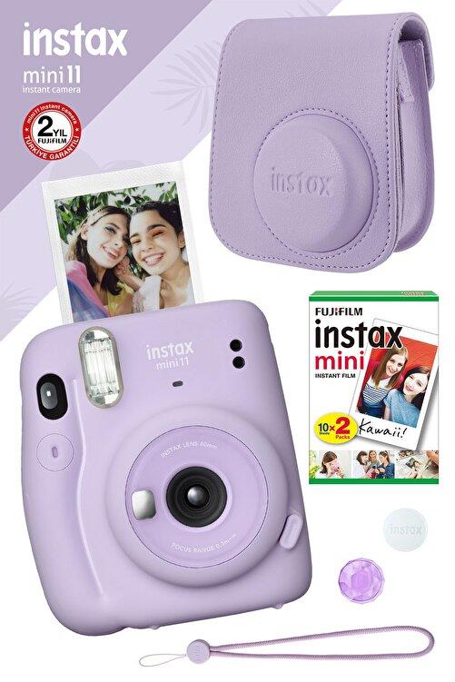 Fujifilm Instax Mini 11 Lila Fotoğraf Makinesi Ve Hediye Seti 4 1