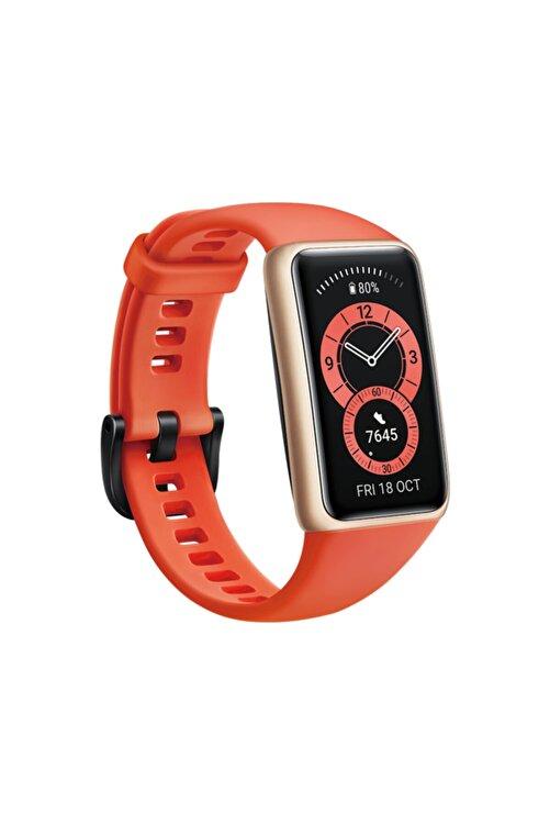 Huawei Band 6 Amber Turuncu Akıllı Bileklik 2