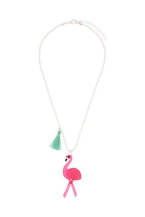 Accessorize Flora Flamingo Püskül Kolye 1