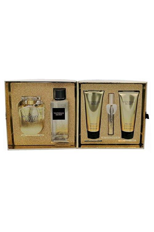 Victoria's Secret Angel Gold Edp 100 ml Kadın Deluxe Parfüm Seti 667543273072 1