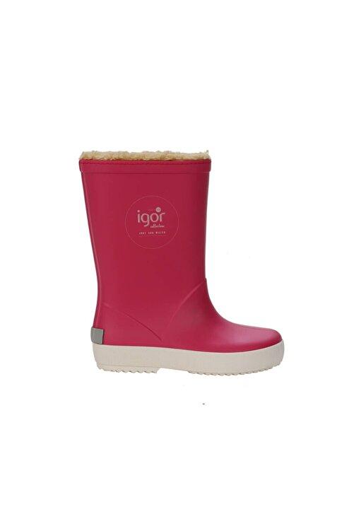 IGOR SPLASH NAUTICO BORREGUITO Fuşya Kız Çocuk Yağmur Çizmesi 100518769 2