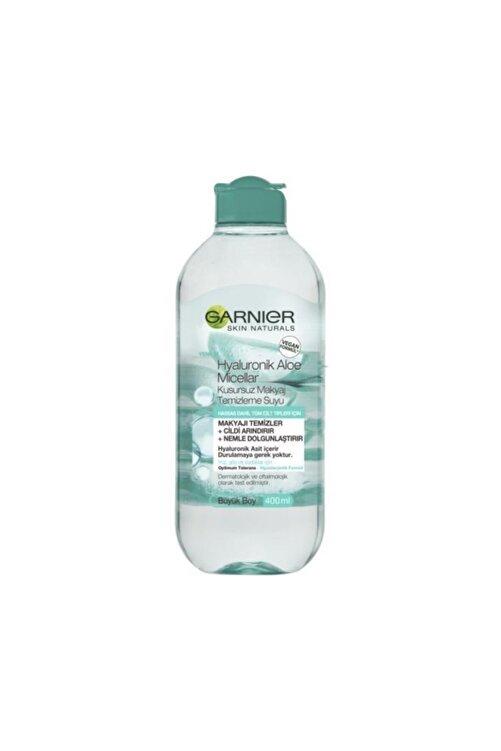Garnier Micellar Hyaluronik Aloe Kusursuz Makyaj Temizleme Suyu 400 ml 2