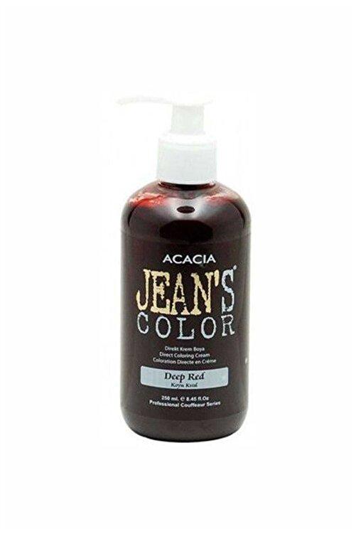 Acacia Jean's Color Saç Boyası Koyu Kızıl 250 ml 1