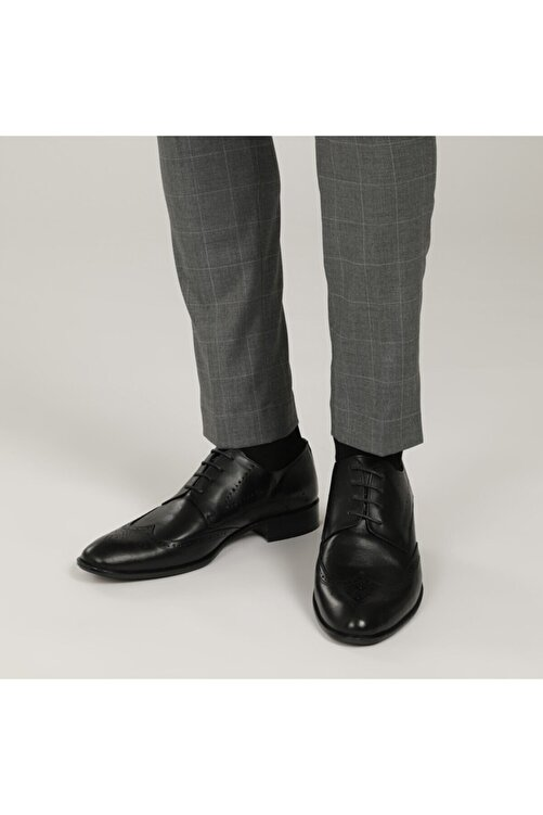 Garamond 1776-2 1FX Siyah Erkek Klasik Ayakkabı 101015105 1
