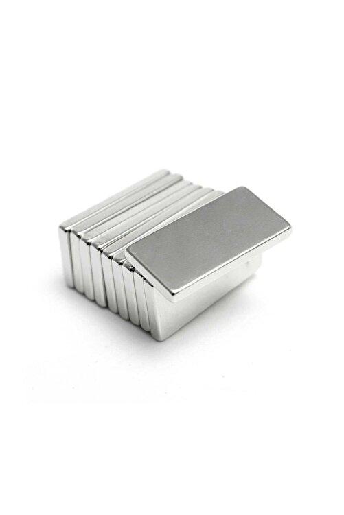 Dünya Magnet 20 Adet 20x10x2 Süper Güçlü Neodyum Mıknatıs Magnet (20'li Paket) 2