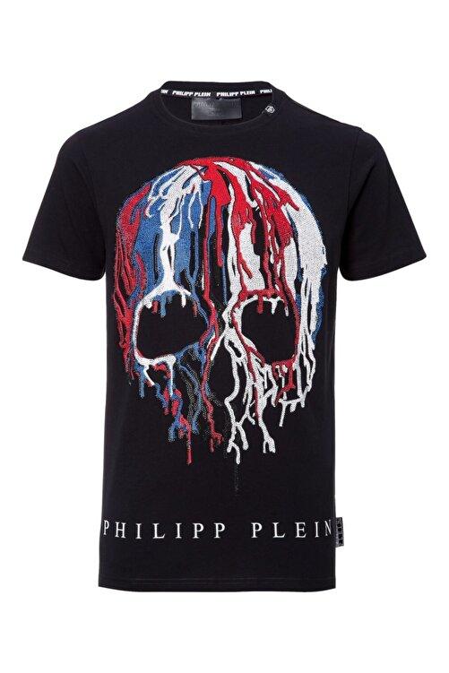 PHILIPP PLEIN Erkek T-shırt Siyah - Medıum Beden 2